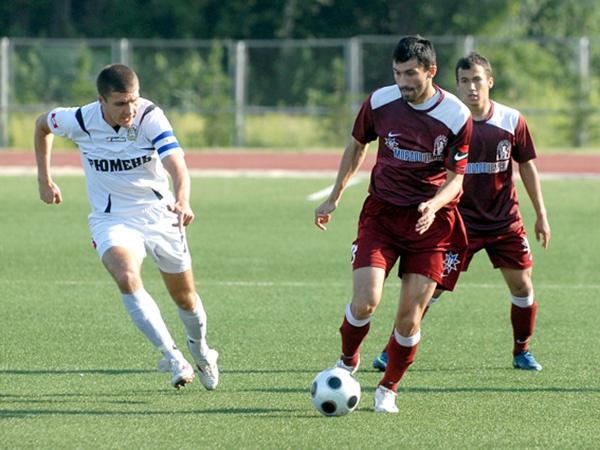 Футбольная Национальная Лига команда Тюмень Газовик футбол