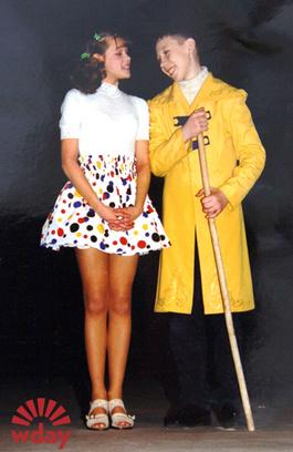 1998 год. Катя в пьесе «Елизавета Бам»
