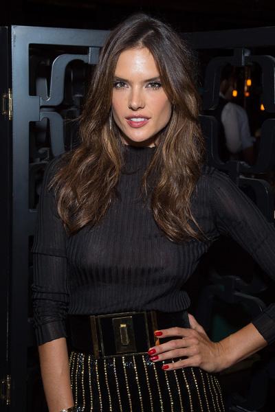 Алессандра Амбросио на вечеринке в Нью-Йорке