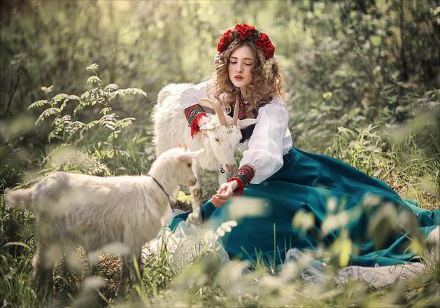 Девушки в сказочных образах, фото