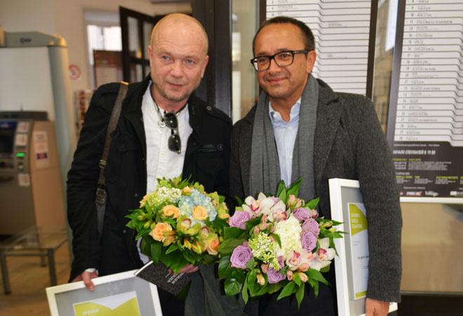 Андрей Смоляков и Андрей Звягинцев: фото