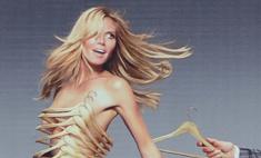 Хайди Клум вновь обнажилась для рекламной кампании