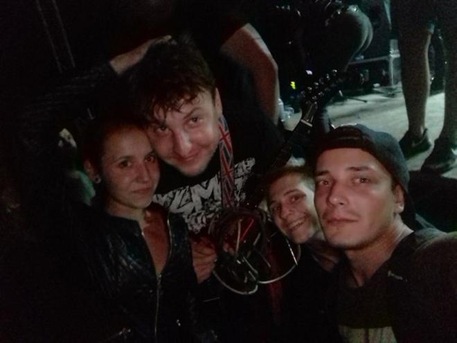 ЙОРШ: фото после концерта