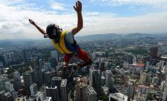 Сколько стоит тройной прыжок с крыши