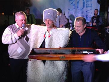 Евгения Плющенко посвятили в казаки.