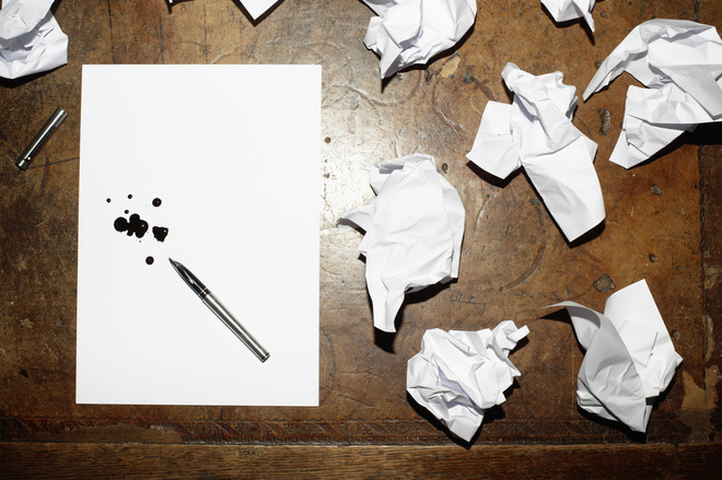 стереть гелевую ручку