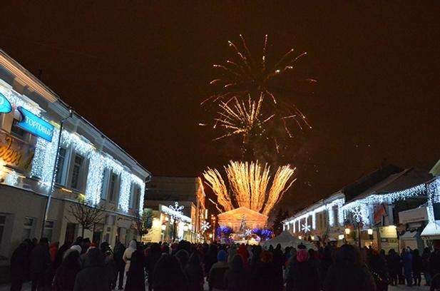 Новый год в Калуге