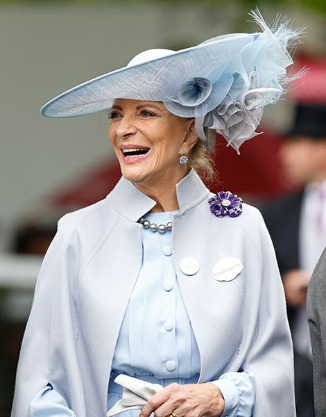 Королевские скачки в Аскоте: парад шляп   галерея [1] фото [3]