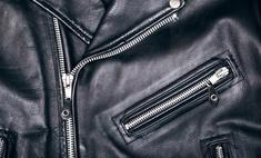 Если кожа на куртке очень грубая