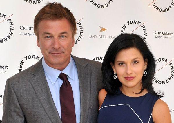 Алек Болдуин (Alec Baldwin) с женой