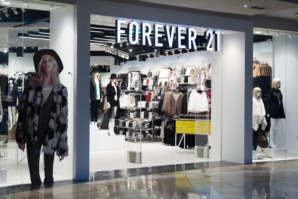 Открытие магазина Forever 21 в Москве было признано самым масштабным