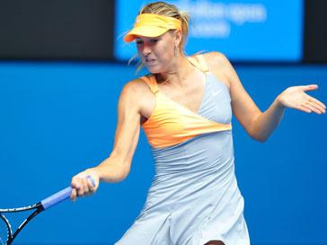 В серии игр Большого шлема Мария Шарапова выступает на корте в платье от Nike