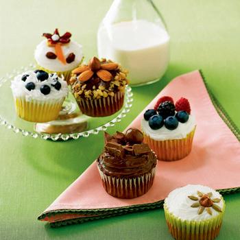 Миндальные cupcakes