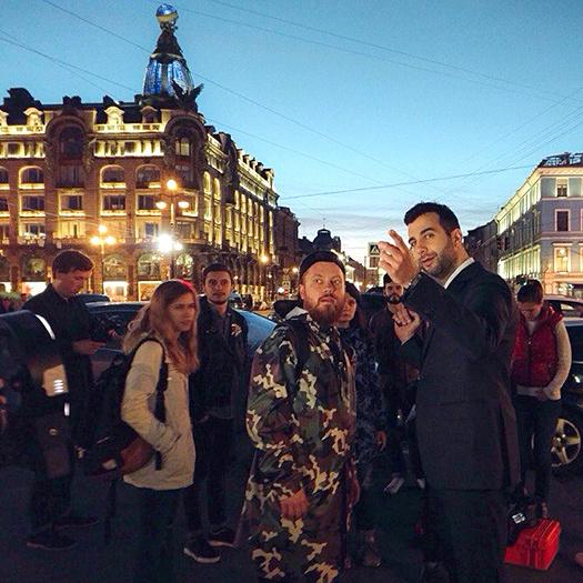 Иван Ургант в Петербурге, Вечерний Ургант в Петербурге