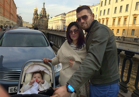 Юрий Лодыгин, жена, дочь