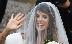 Появились снимки со свадьбы Элизабетты Каналис