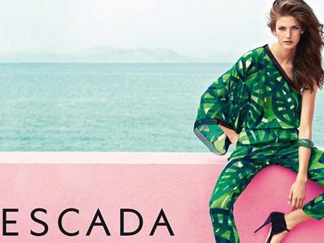 Рекламная кампания Escada