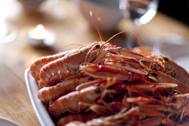 Морепродукты в Швеции фото