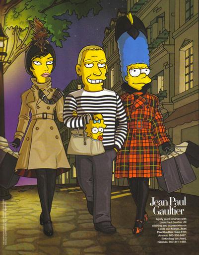 Jean-Paul Gaultier. Иллюстрация из американского журнала Harper's Bazaar, 2007 год