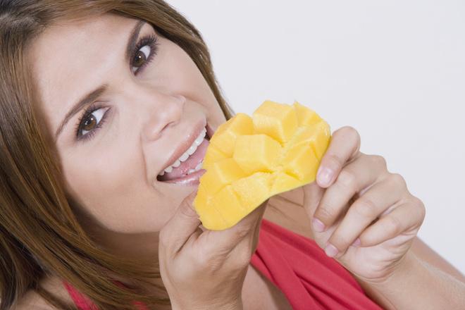 как правильно чистить манго