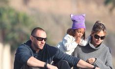 Хайди Клум провела отпуск с телохранителем и детьми