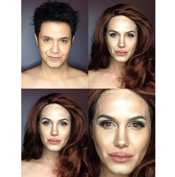 Филиппинский визажист перевоплотился в звезд с помощью макияжа   галерея [1] фото [11]