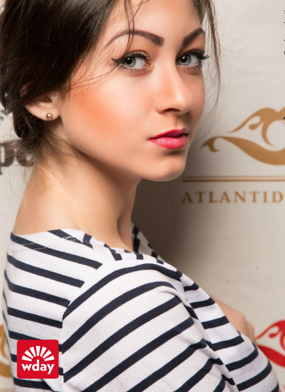 Омск, девушка апреля, Атлантида