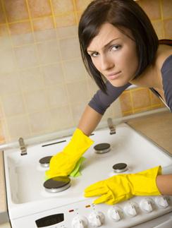Как мыть плиту