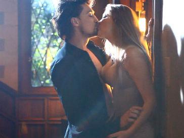 Дима Билан снялся в клипе вместе со своей девушкой