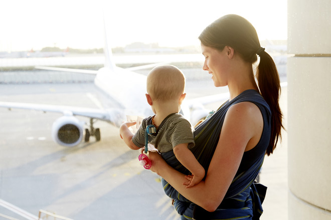 Укачивание детей в самолете