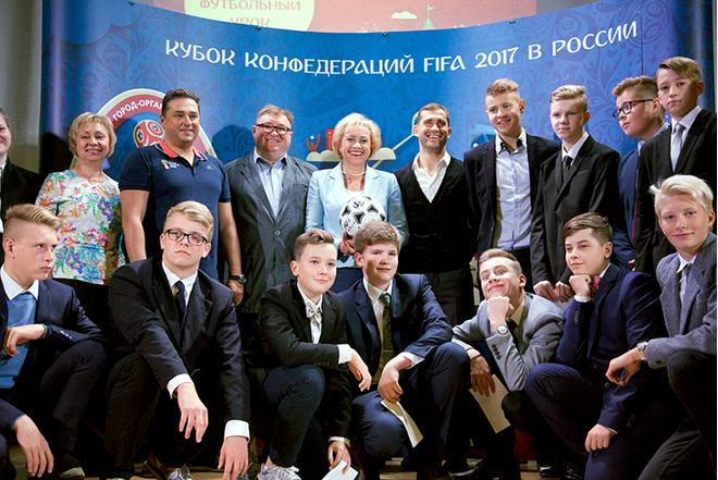 Александр Кержаков провел урок в петербургской гимназии: фото, подробности