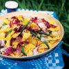 Салат из макарон фарфалле