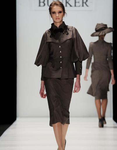 Mercedes-Benz Fashion Week Russia: Бункер Z, осень-зима 2012/13