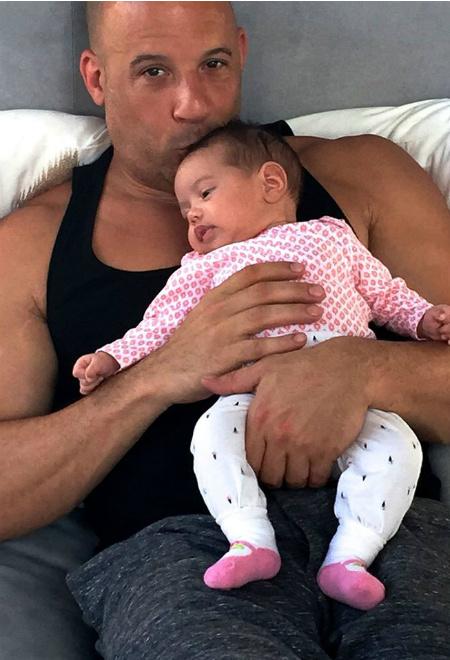 Вин Дизель с дочкой фото