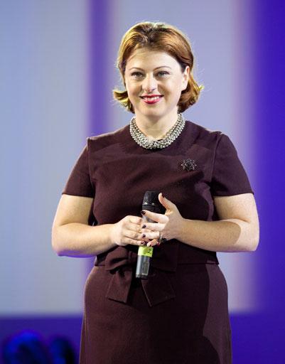 Главный редактор журнала Marie Claire Ольга Зарецкая