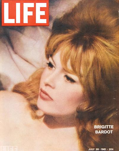 Актриса Брижит Бардо, 1961 год