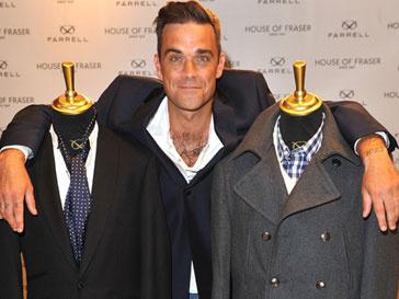 Робби Уильямс (Robbie Williams) представил свою линию Farell накануне старта Недели моды в Лондоне