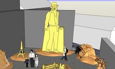 Самая большая статуя Майкла Джексона будет сделана из песка
