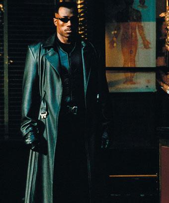 "Кадр из фильма ""Блейд"", 1998 год"