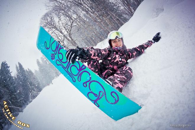 топ самых смелых сноубордисток Кубани