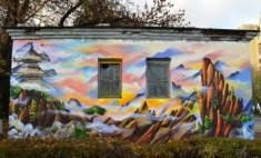 Самые яркие граффити на улицах Твери