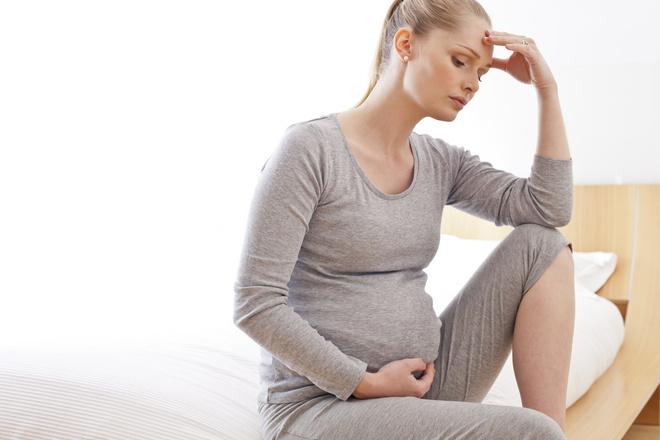 желудок во время беременности