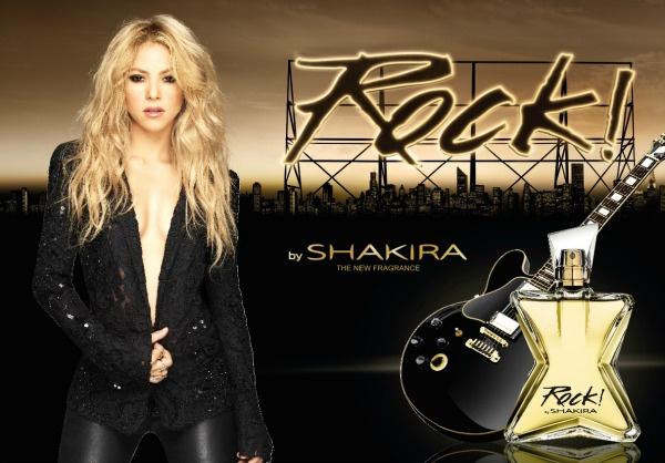 новый аромат rock by shakira