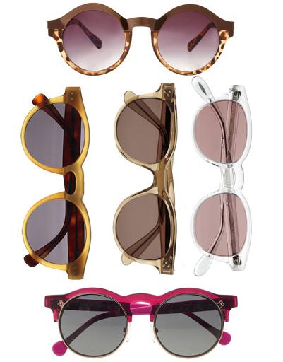 Очки Asos, очки Illesteva, очки Illesteva, очки Oliver Peoples, очки Carven