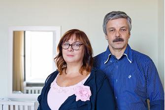 Марина и Владимир Баскаковы