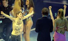 Хайди Клум стала жертвой Femen