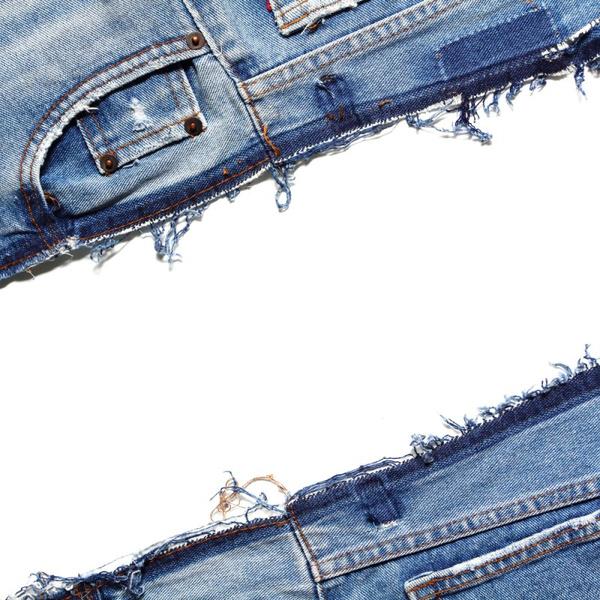 Как из старых джинс сделать шорты