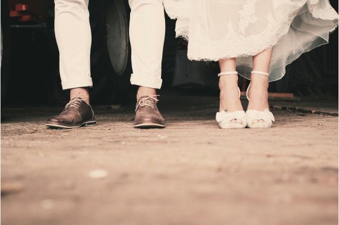 Мужчина и женщина, свадьба
