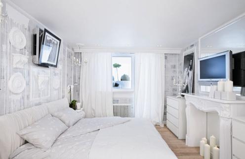 дизайн спальни, до и после ремонта, интерьер спальни, переделка, квартирный ответ, белый цвет, ремонт спальни, дизайн спальни