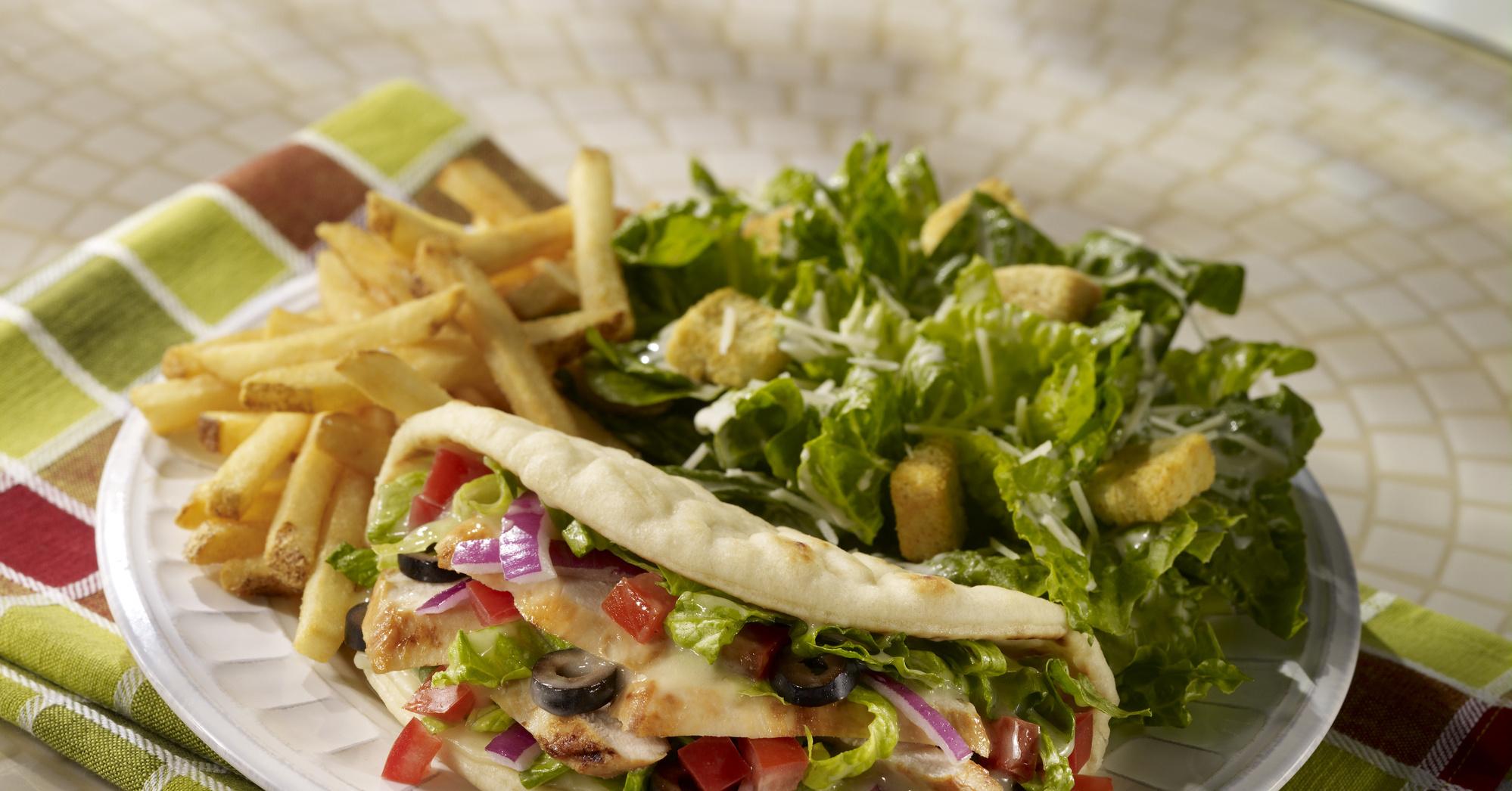 Салат радуга рецепт с с картофелем фри